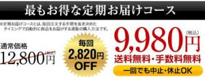 フィンジア_定期コース価格